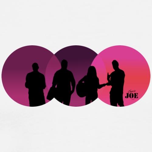 Motiv Cheerio Joe pink - Männer Premium T-Shirt