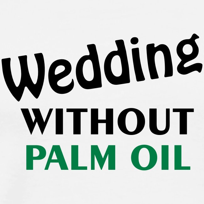 wedding without palm oil