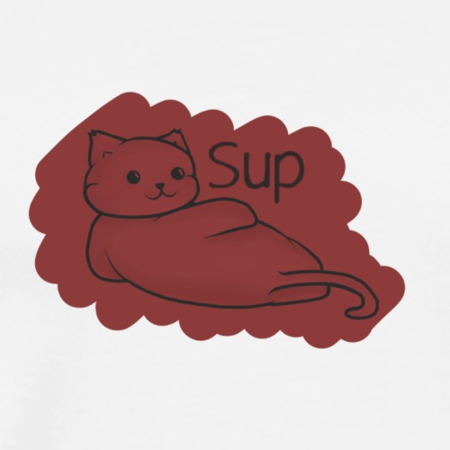 Sup Cat - Men's Premium T-Shirt
