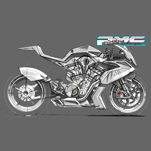 vtr sketch - T-shirt Premium Homme
