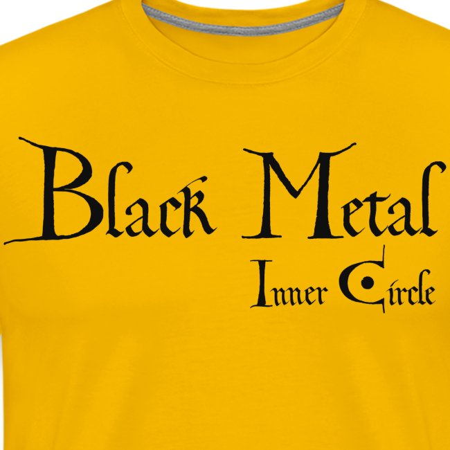 Inner Circle black metal, black ink
