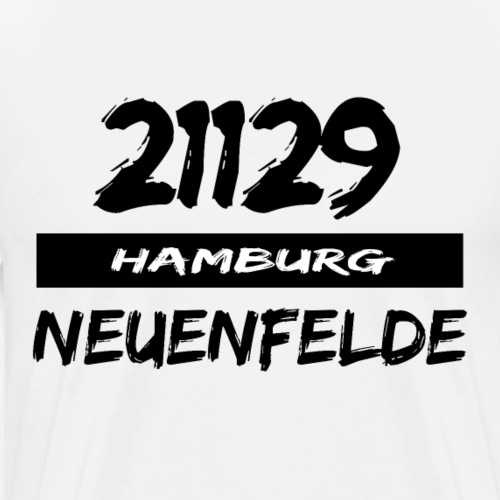 21129 Hamburg Neuenfelde - Männer Premium T-Shirt