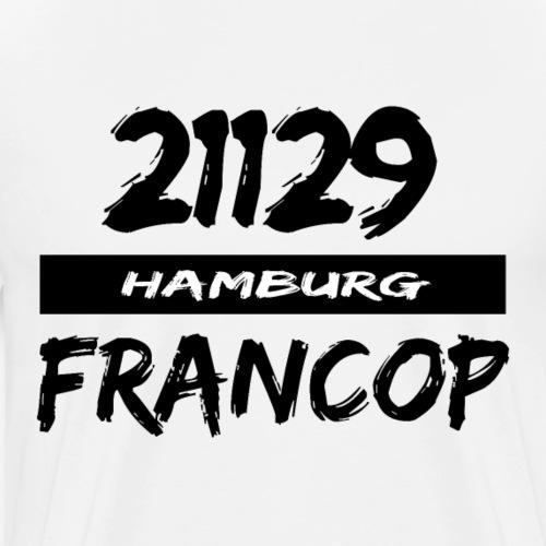 21129 Hamburg Francop - Männer Premium T-Shirt