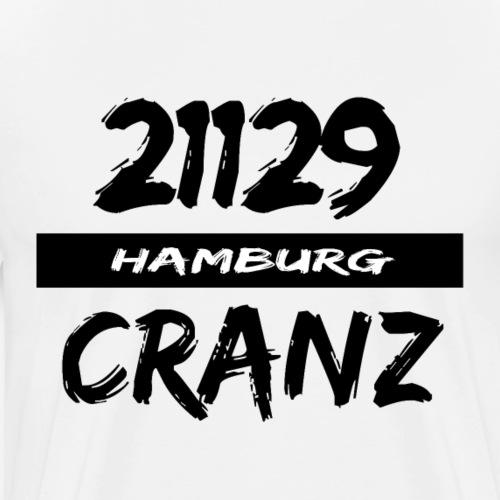 21129 Hamburg Cranz - Männer Premium T-Shirt