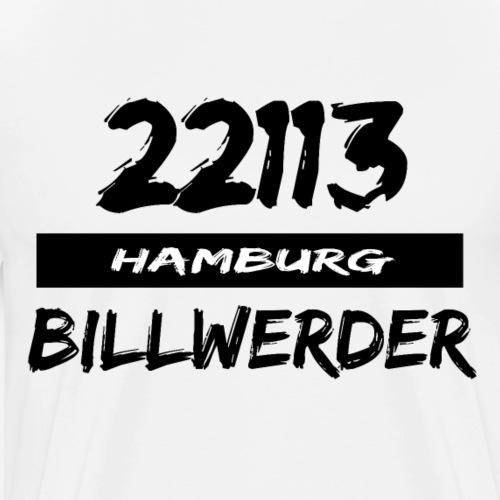 22113 Hamburg Billwerder - Männer Premium T-Shirt