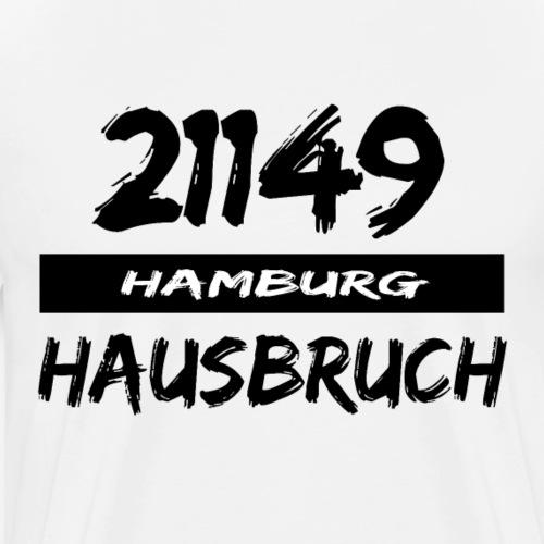 21149 Hamburg Hausbruch - Männer Premium T-Shirt