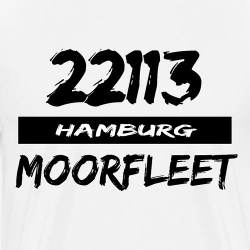 22113 Hamburg Moorfleet - Männer Premium T-Shirt