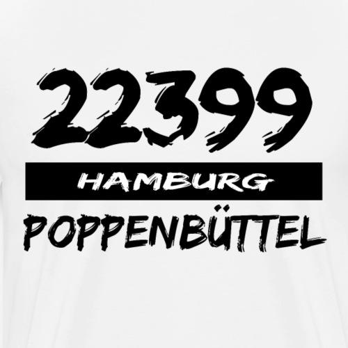 22399 Hamburg Poppenbüttel - Männer Premium T-Shirt