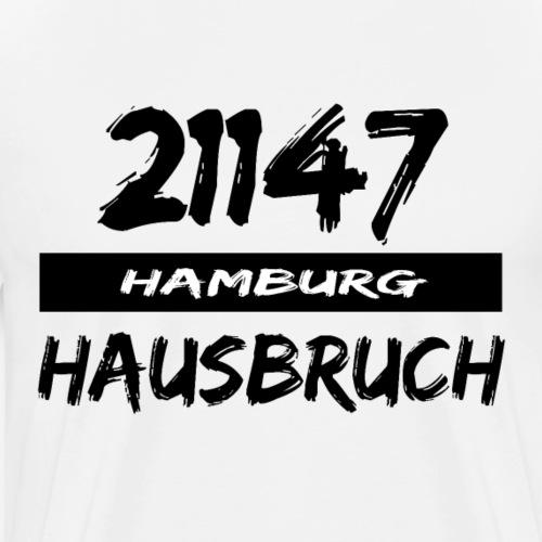 21147 Hamburg Hausbruch - Männer Premium T-Shirt