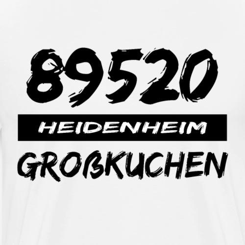 89520 Heidenheim Großkuchen - Männer Premium T-Shirt