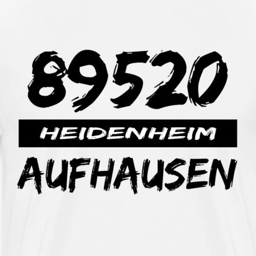 89520 Heidenheim Aufhausen - Männer Premium T-Shirt