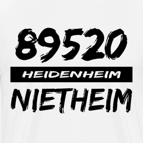 89520 Heidenheim Nietheim - Männer Premium T-Shirt