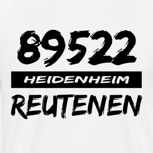 89522 Heidenheim Reutenen - Männer Premium T-Shirt