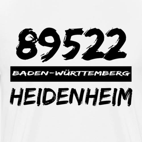 89522 Baden Württemberg Heidenheim - Männer Premium T-Shirt
