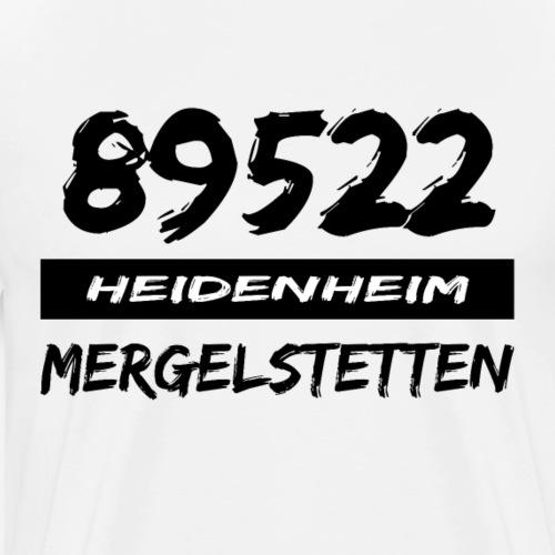 89522 Heidenheim Mergelstetten - Männer Premium T-Shirt