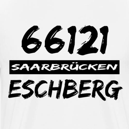 66121 Saarbrücken Eschberg - Männer Premium T-Shirt