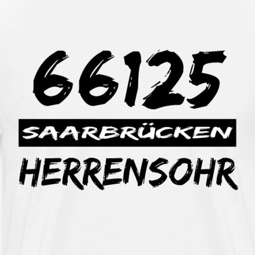 66125 Saarbrücken Herrensohr - Männer Premium T-Shirt
