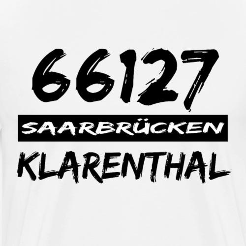 66127 Saarbrücken Klarenthal - Männer Premium T-Shirt