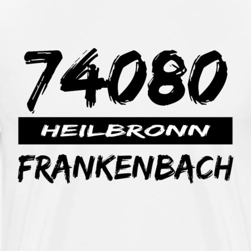 74080 Heilbronn Frankenbach - Männer Premium T-Shirt