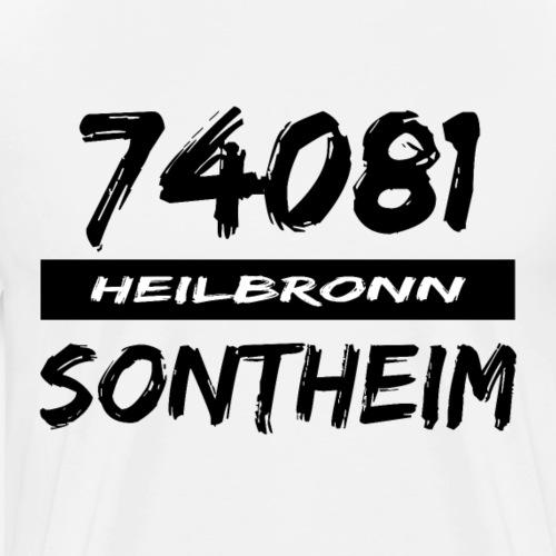 74081 Heilbronn Sontheim - Männer Premium T-Shirt