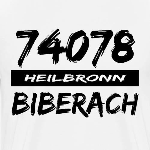 74078 Heilbronn Biberach - Männer Premium T-Shirt