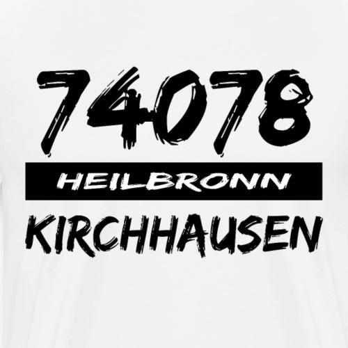 74078 Heilbronn Kirchhausen - Männer Premium T-Shirt