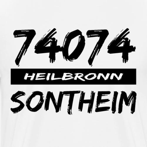 74074 Heilbronn Sontheim - Männer Premium T-Shirt