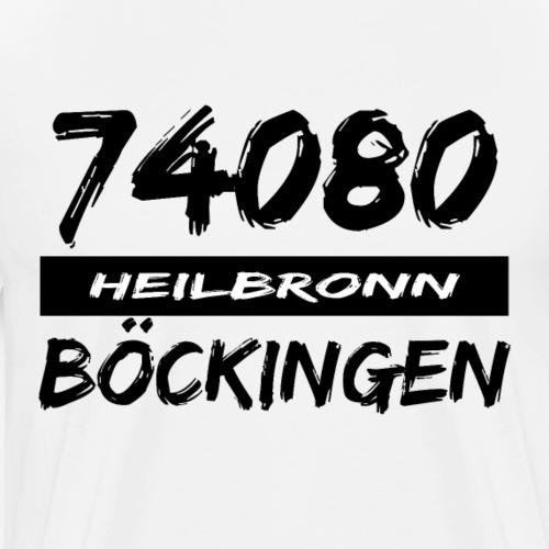 74080 Heilbronn Böckingen - Männer Premium T-Shirt