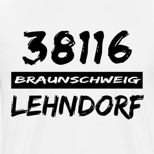 38116 Braunschweig Lehndorf - Männer Premium T-Shirt