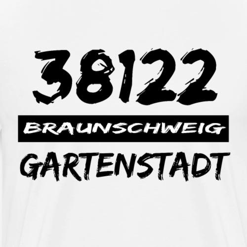 38122 Braunschweig Gartenstadt - Männer Premium T-Shirt