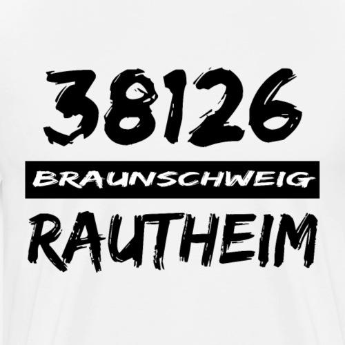38126 Braunschweig Rautheim - Männer Premium T-Shirt
