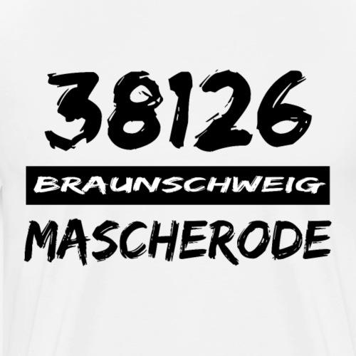 38126 Braunschweig Mascherode - Männer Premium T-Shirt