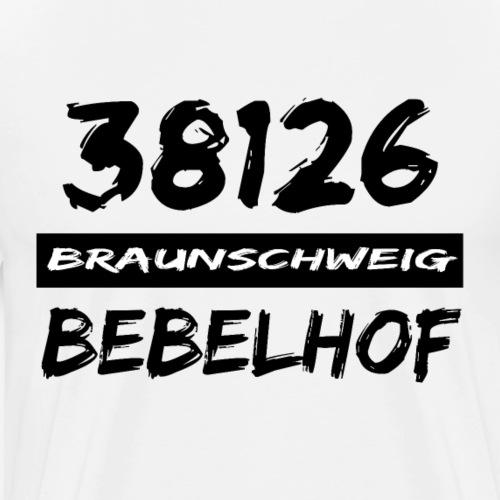 38126 Braunschweig Bebelhof - Männer Premium T-Shirt