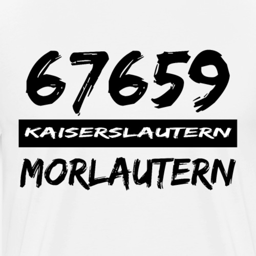 67659 Kaiserslautern Morlautern - Männer Premium T-Shirt