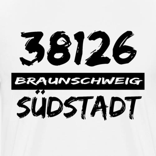 38126 Braunschweig Südstadt - Männer Premium T-Shirt
