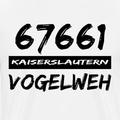 67661 Kaiserslautern Vogelweh - Männer Premium T-Shirt