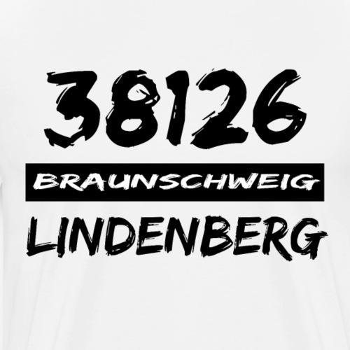 38126 Braunschweig Lindenberg - Männer Premium T-Shirt