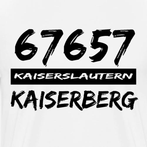 67657 Kaiserslautern Kaiserberg - Männer Premium T-Shirt