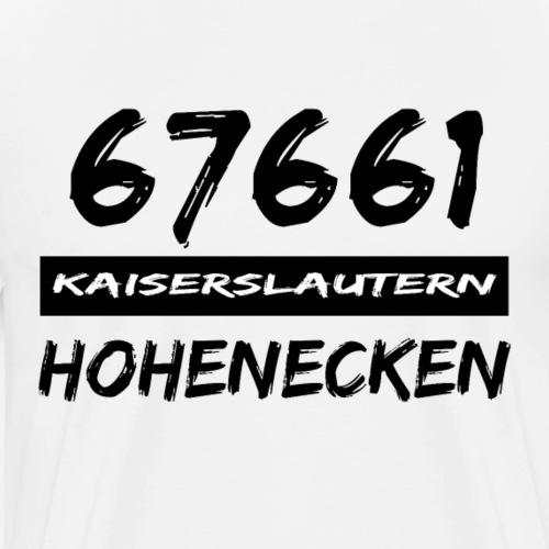67661 Kaiserslautern Hohenecken - Männer Premium T-Shirt
