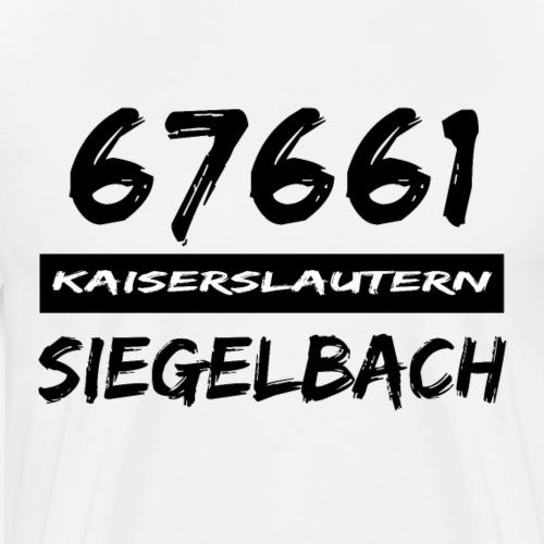 67661 Kaiserslautern Siegelbach - Männer Premium T-Shirt