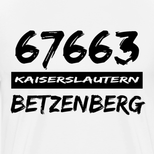 67663 Kaiserslautern Betzenberg - Männer Premium T-Shirt