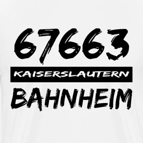 67663 Kaiserslautern Bahnheim - Männer Premium T-Shirt