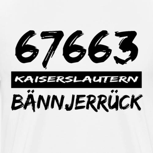 67663 Kaiserslautern Bännjerrück - Männer Premium T-Shirt