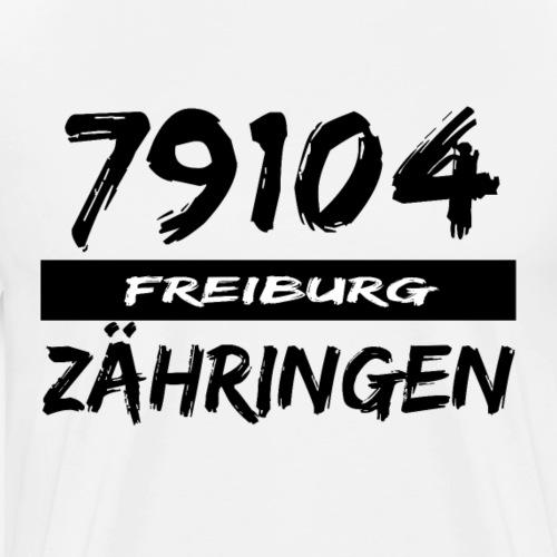 79104 Freiburg Zähringen t-shirt - Männer Premium T-Shirt