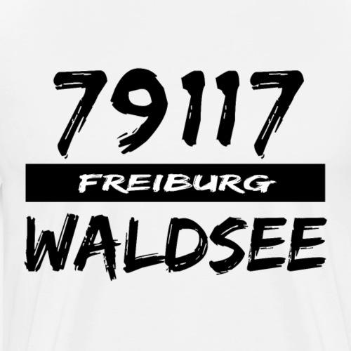 79117 Freiburg Waldsee t-shirt - Männer Premium T-Shirt