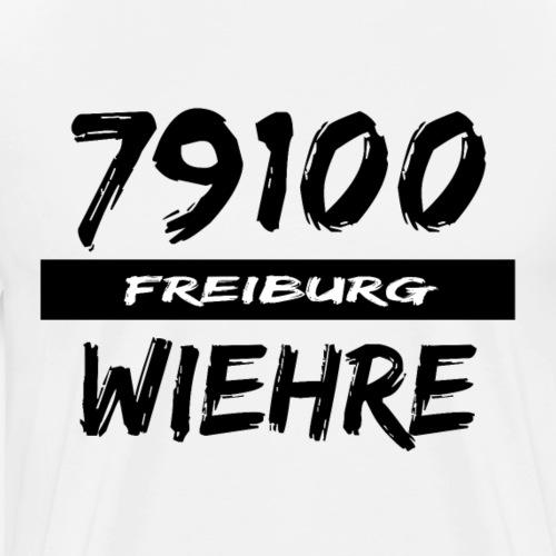 79100 Freiburg Wiehre t-shirt - Männer Premium T-Shirt