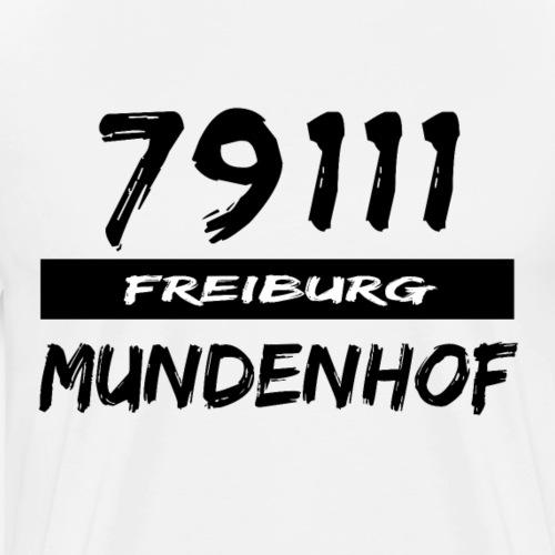 79111 Freiburg Mundenhof t-shirt - Männer Premium T-Shirt