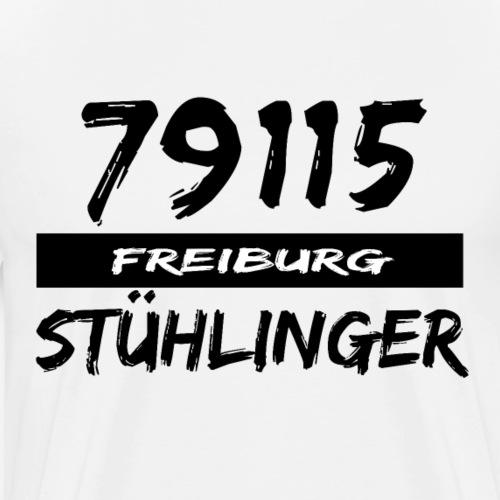 79115 Freiburg Stühlinger t-shirt - Männer Premium T-Shirt