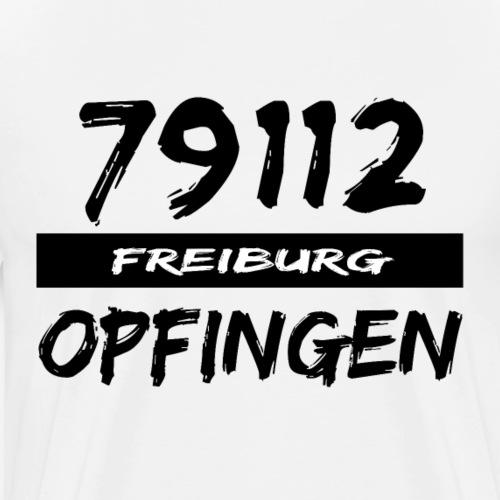 79112 Freiburg Opfingen t-shirt - Männer Premium T-Shirt