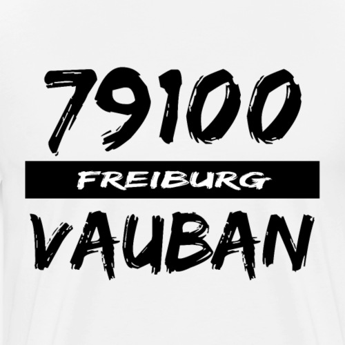 79100 Freiburg Vauban t-shirt - Männer Premium T-Shirt